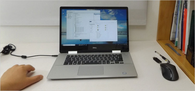 Whiskey LakeのInspiron 15(5582) 2-in-1