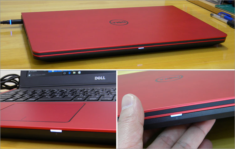 Inspiron 15(7559)の電源ライト