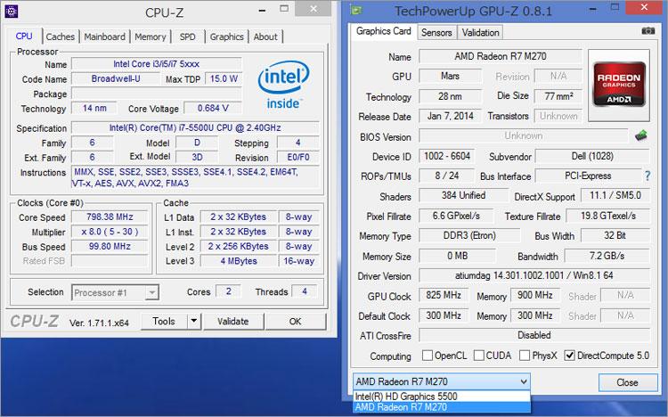 Core i7-5500U