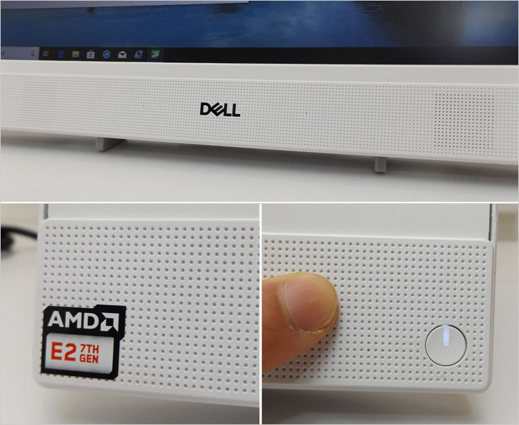 DELLロゴの左右
