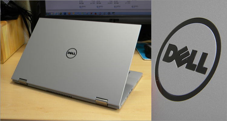 Inspiron 13 2 in 1(7347)の天板