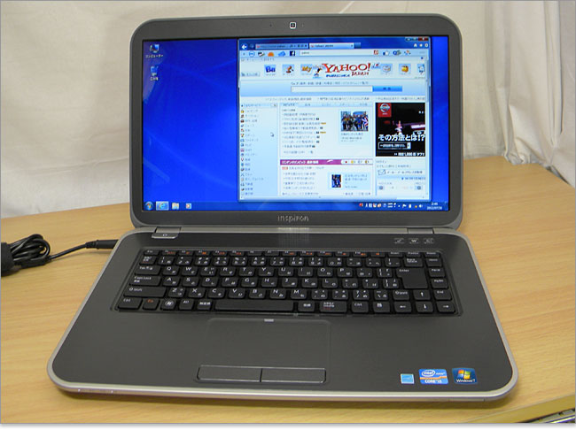 Ivy Bridge設計のInspiron 15R