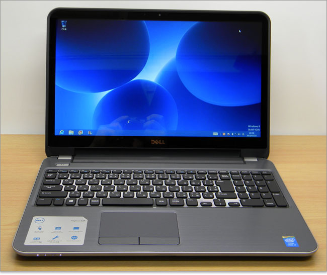 DELLエントリー!Inspiron 15Rレビュー-Haswell