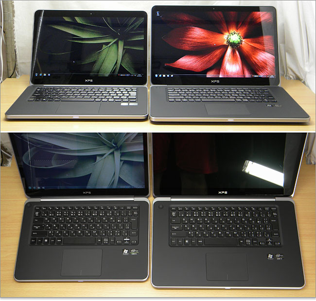 xps15とXPS 14 Ultrabook比較