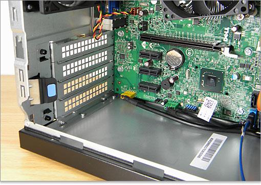 DELL Inspiron 620のマザーボードをチェック/パソ兄さん