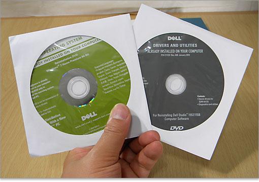 Dell リカバリ メディア デル製コンピュータ用のWindows