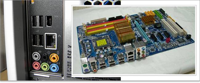 マザーボード パソコンに標準装備されている端子は、マザーボードに直結しているオンボー... パソ