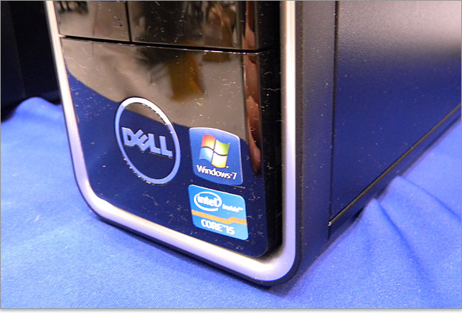inspiron660sのDELLロゴ