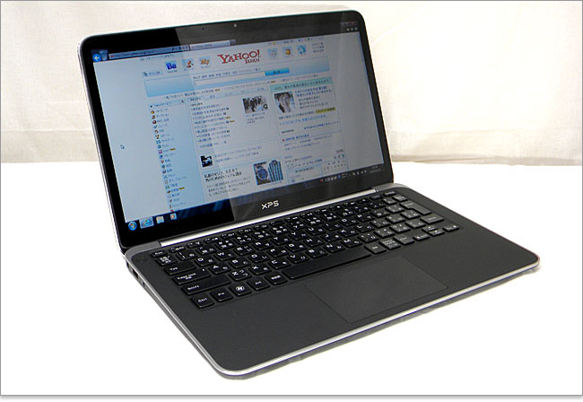 XPS 13 Ultrabookをレビュー